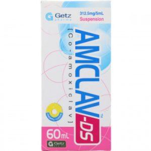 Amclav Ds 312.50MG 60ml
