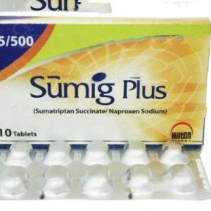 Sumig Plus Tab 500mg,85mg 10's