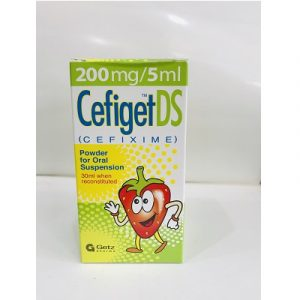 Cefiget Ds 200mg Syrup