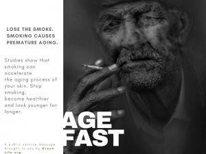 Aging Fast With Smoking
