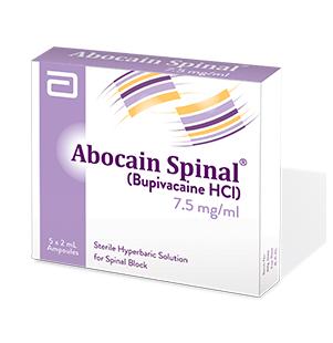 Abocain Spinal Inj